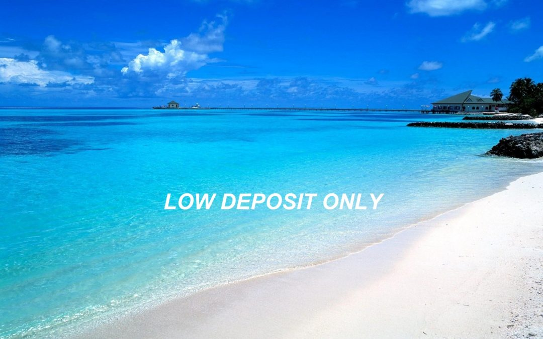 Low Deposit – Pay Only Half Your Holiday Package Airfare Today