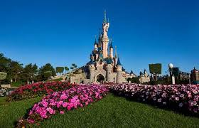 Disneyland Paris in Spring