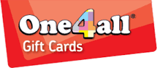 We Accept One4All – & Me2You Vouchers